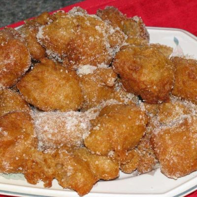 Pancake Batter Donut Holes