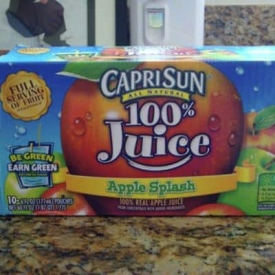 "Florida Mom Finds Mystery ""Mold"" Item In Capri Sun Drink Pouch"