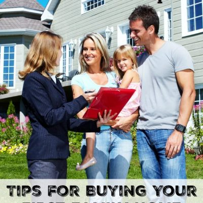 Tips for Buying Your First Family Home