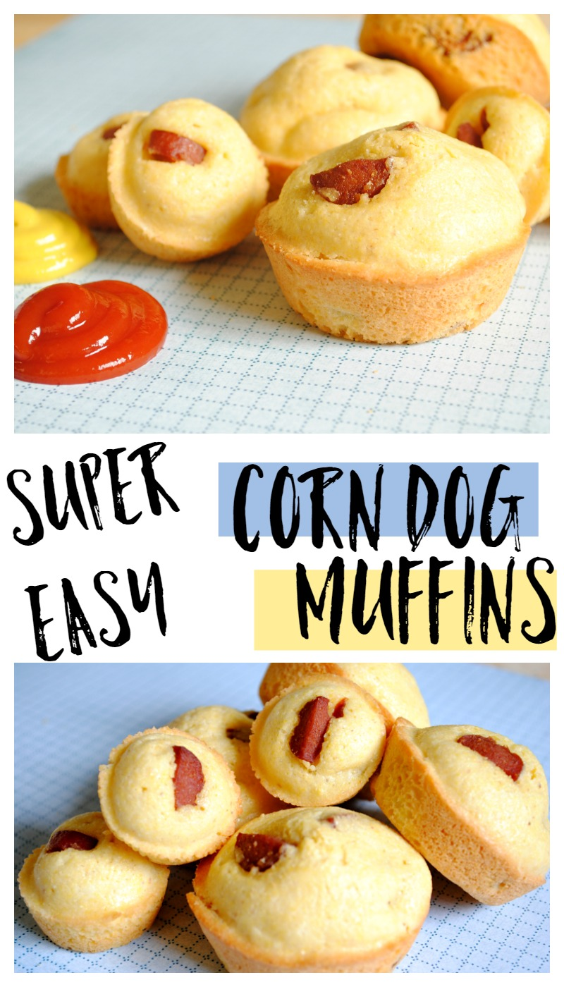 Corn Dog Muffins kid friendly recipe