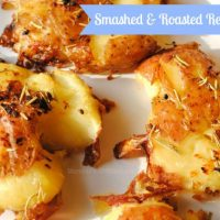 Smashed and Roasted Red Potatoes