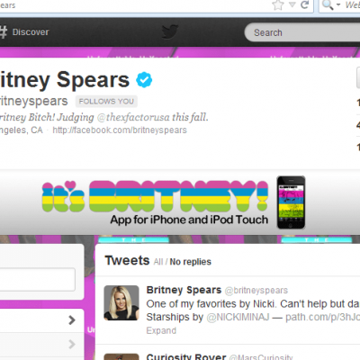 The Day I Learned Britney Was Following Me