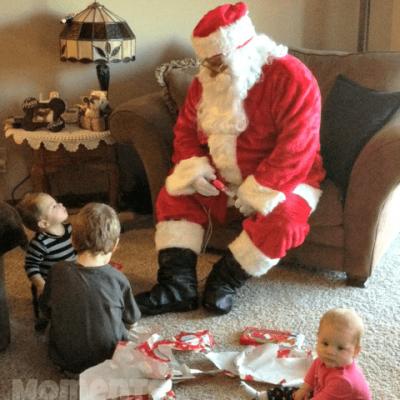 Surprise Visit From Santa!