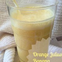 Orange Julius Banana Protein Shake