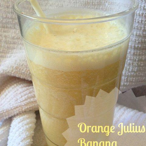 Orange Julius Banana Protein Shake