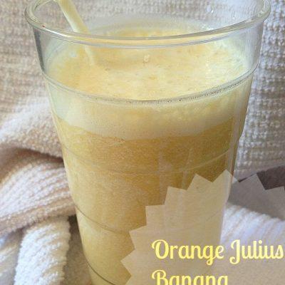 Orange Julius Protein Shake