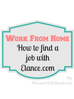 How to find a work from home job with Elance.com