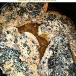 Buttery Herb Crock Pot Chicken