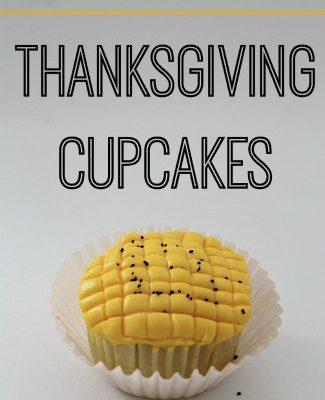 Thanksgiving Corn Cupcakes