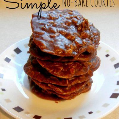 Simple No-Bake Cookies