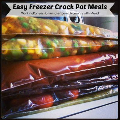 Easy Freezer Crock Pot Meals