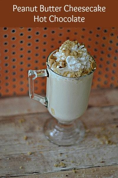 Peanut Butter Cheesecake Hot Chocolate