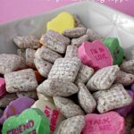 Conversation Heart Puppy Chow
