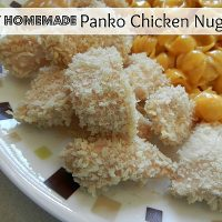 Easy Homemade Panko Chicken Nuggets