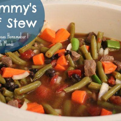 Grammy's Beef Stew Recipe