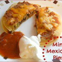 Mini Mexican Pies