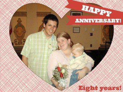 Happy Anniversary to Us! Eight Years!