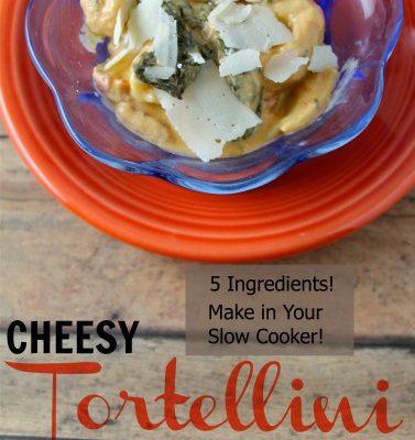 Cheesy Tortellini Soup