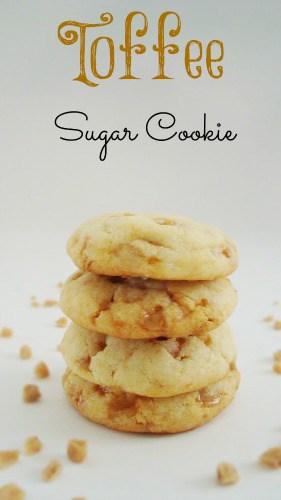 Toffee Sugar Cookies