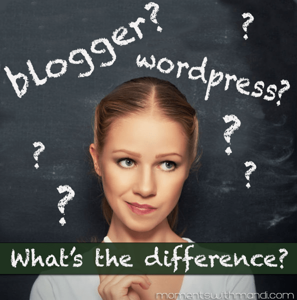 Blogger vs Wordpress: What's The Difference?