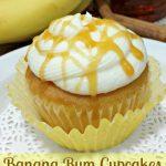 Banana Rum Cupcakes