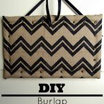 DIY Burlap Bulletin Board