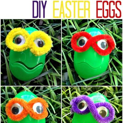 Teenage Mutant Ninja Turtle Easter Eggs