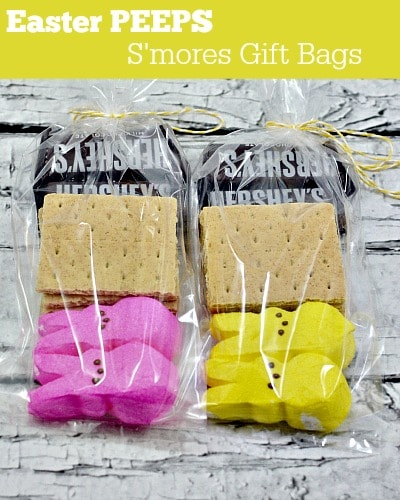 Easter PEEPS S'mores Gift Bag - Moments With Mandi