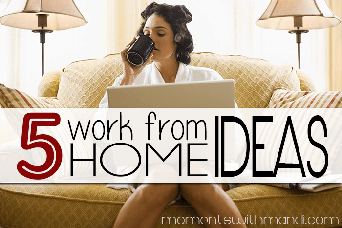 5 work at home job ideas for moms for Stay at home craft jobs