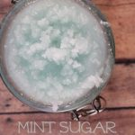 Mint Sugar Facial Scrub