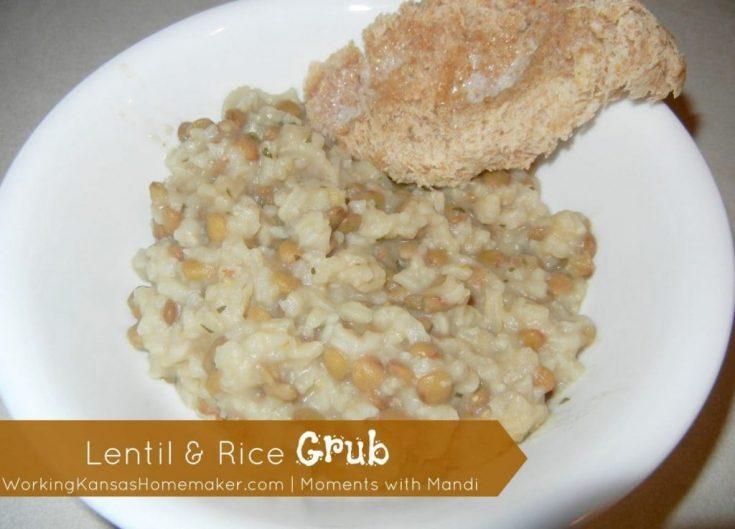 Lentil & Rice Grub