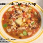Homemade Tortilla Soup
