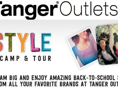 Back To School Shopping With Tanger Outlets!