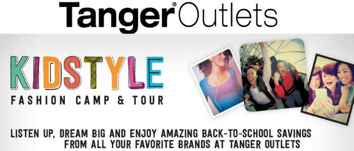 Back to School with Tanger Outlets