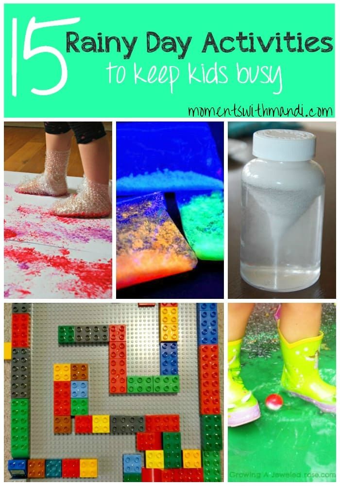 15 Rainy Day Activities For Kids