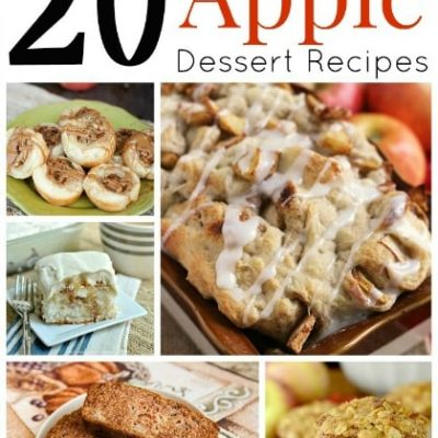 20 Delicious Apple Dessert Recipes