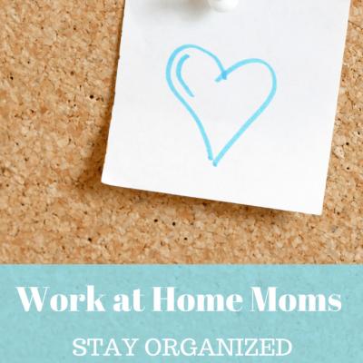 WAHM: Keep Organized, Keep up with the Kids Progress