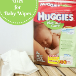 Alternative Uses For Baby Wipes Featuring Huggies Natural Care Wipes