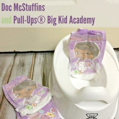 Potty Training With Doc McStuffins and the Pull-Ups® Big Kid Academy