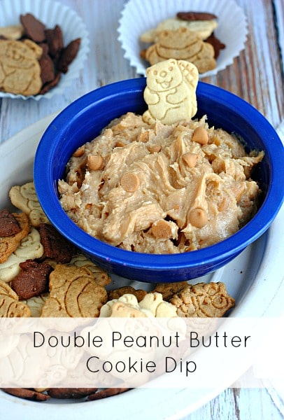 Double Peanut Butter Cookie Dip - Moments With Mandi