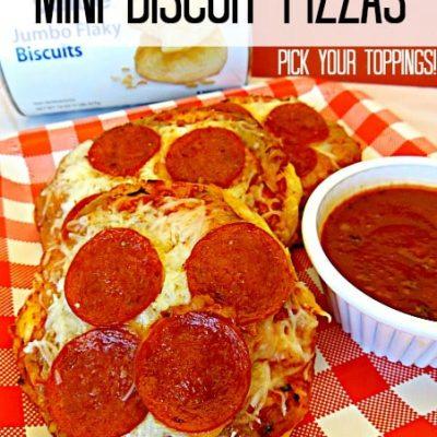 Mini Biscuit Pizzas