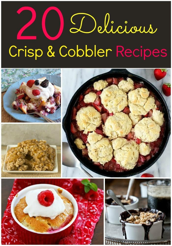20 Delicious Cobber and Crisp Recipes