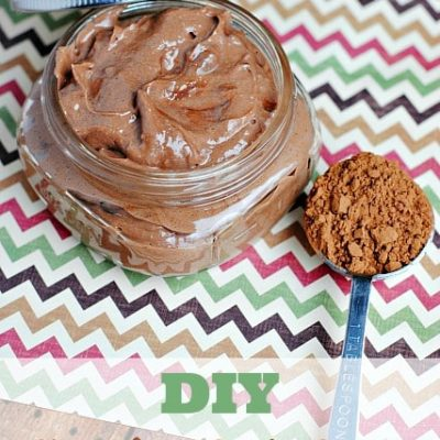 DIY Chocolate Body Butter