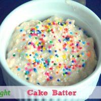 Overnight Cake Batter Oats
