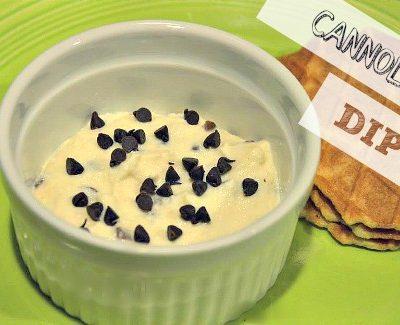 Easy Homemade Cannoli Dip
