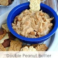 Double Peanut Butter Cookie Dip