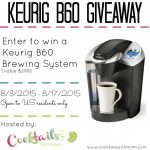 Enter to WIN a Keurig B60 Brewing System
