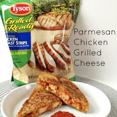 Parmesan Chicken Grilled Cheese and the Tyson Project A+™