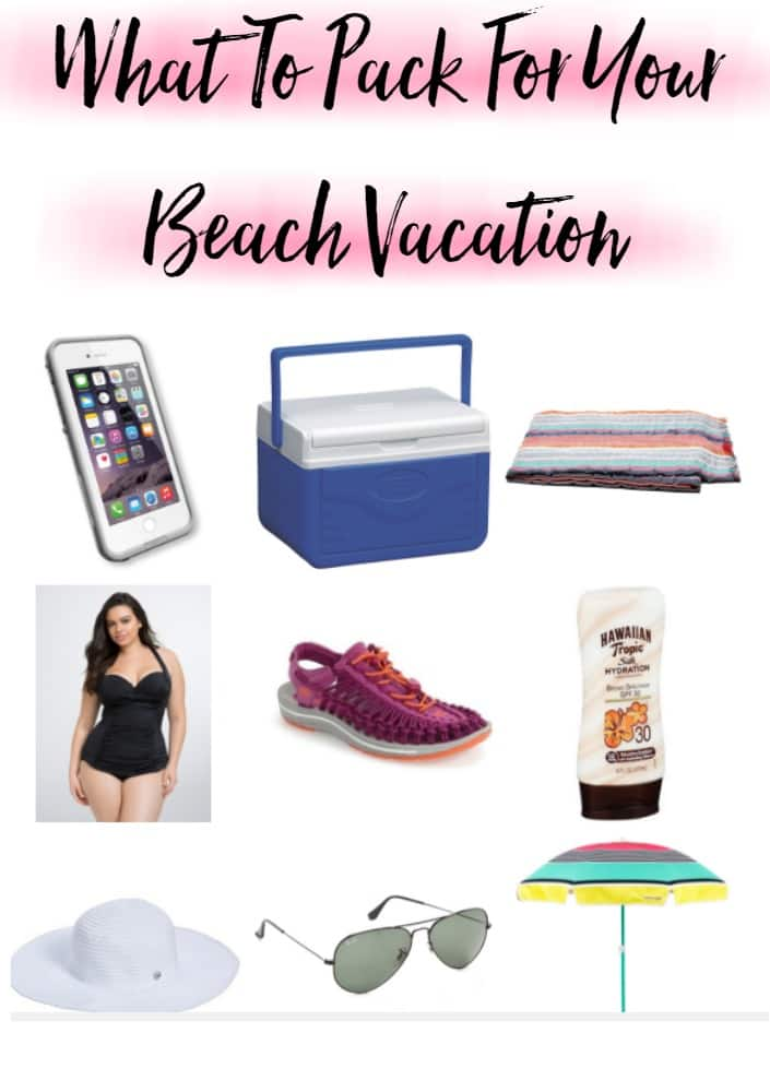 What to Pack in for Your Beach Vacation