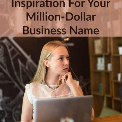 Need To Name Your Business But Drawing A Blank?